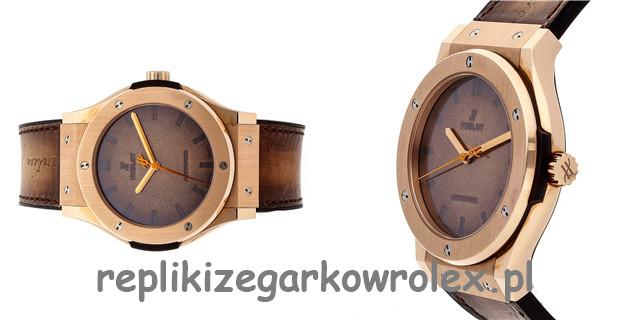 Hublot wprowadza na rynek nową klasyczną wersję Fusion Mykonos Limited Edition Repliki Zegarków